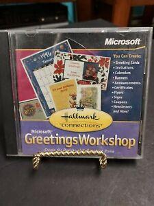 Greetings Workshop Hallmark CD-ROM