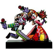 FOLLOW ME Goebel Skulptur PopArt 66450800 limitierte Edition Romero Britto LIebe