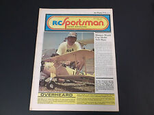 VERY COLLECTIBLE JULY 1978 R/C SPORTSMAN NEWS MAGAZINE W/PLANE PLANS *G-COND*