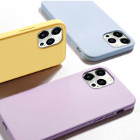 For iPhone 12 Mini 12 Pro Max 12 Pro 12 Liquid Silicone Square Phone Case Cover