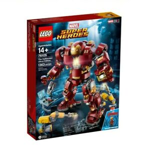 LEGO 76105 MARVEL AVENGERS INFINITY WAR HULKBUSTER ULTRON SUPERHERO NEW SEALED