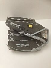 "Left Handed Thrower WILSON Dual Hinge A150 Baseball Glove Black Youth 10.5"" LHT"