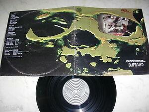 Buffalo Dead Forever Australia Blues-Hardrock Swirl Vertigo Foc LP 1972