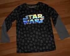 Boy's long sleeve tee frm Star Wars collection, featuring STAR WARS designs,Sz 5