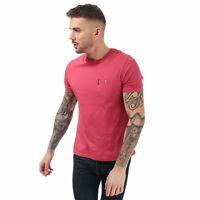 Mens Ben Sherman Classic Spade Pocket T-Shirt In Rose- Short Sleeve- Ribbed