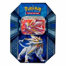 Pokemon TCG SM Solgaleo GX Collection Tin w/ Promo & 4 Booster Packs Sealed New