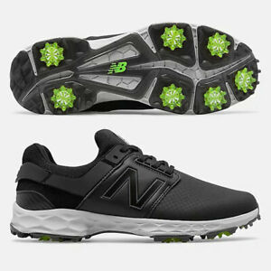 NEW BALANCE MEN'S FRESH FOAM LINKS PRO GOLF SHOES SIZE: 10 *2E WIDE* BLACK 20430