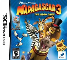 Madagascar 3 DS NEW! NDS, DSI, LITE, XL, 3DS! DREAMWORKS FAMILY GAME PARTY NIGHT