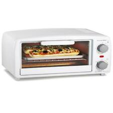 4 Slice Toaster Electric Oven Extra-Large Home Office Cooking Appliances White