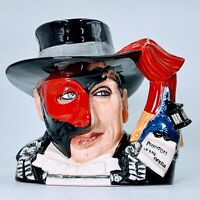 ROYAL DOULTON Phantom of the Opera D7017 Large Character Jug - LE. PO