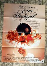 EINE HOCHZEIT / A WEDDING * A1-FILMPOSTER Motiv A - German 1-Sheet ´79 ALTMAN