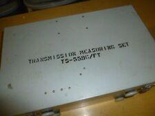 Daven Military Transmission Measuring Set TS-559C/FT