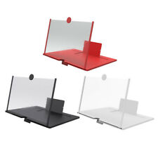 Phone SCREEN MAGNIFIER Mobile Stand Stereoscopic Amplifier Wooded for iPhone