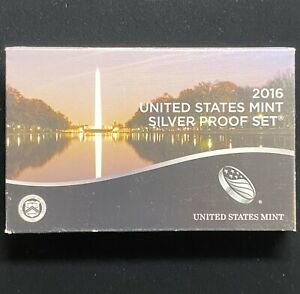 2016 United States Mint Silver Proof Set.! NR.!