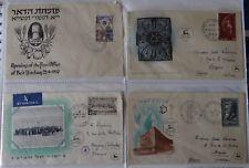 Israël, Album de 44 enveloppes Premier jour (1950-1975)
