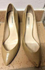 Ladies Oroton Heels - Beige Size 8.5