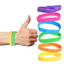 24pk Assorted Rubber Kids MONKEY Bracelets Party favors Arcade Prizes LOT