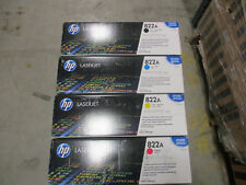 C8560A,561A,562A,563 Genuine HP 822A Toner Cartridge Set Of 4 OEM