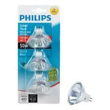 Philips Indoor flood lights. Brand new never been opened 3 bulbs 50 watts.