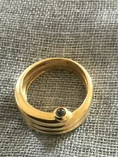 Wempe Ring 2 Cabochons 750 GG