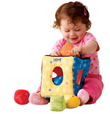 plush toy cloth soft block square box shape learning multicolor educational baby