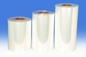 "Polyolefin Shrink Wrap Film, CROSSLINKED, 47 gauge 5500 feet 12"" centerfold"