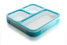 Bento Box by Lifemark Labs - Stylish Leakproof Microwavable Lunch Box with - For