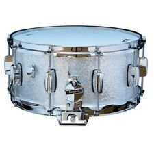"""Rogers Dynasonic 6.5"""" x 14"""" Wood Shell Snare Drum - Silver Sparkle"""