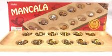 Mancala Ancient Family Game of Strategy Age 6 and up 2 Players Complete Box