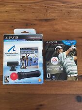 Sony Playstation 3 Move Navigation Motion Controller w/Tiger Woods PGA Tour 12