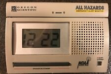 Oregon Scientific WR-3000 All Hazards Emergency Alert Monitor Weather Radio B7