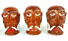 "Vintage Two Hole ""MR. BALI HAI"" Tiki Mug SAN DIEGO, CA. Restaurant Concave Base"
