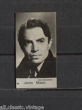 James Mason Vintage Photo Trading Card Rank Organisation 1950s #44