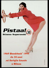 cartolina pubblicitaria PROMOCARD n.1231 WOODSTOCK BIRRA BEER MILANO
