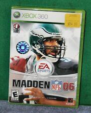 Madden NFL 06 (Microsoft Xbox 360, 2005) VIDEO GAME