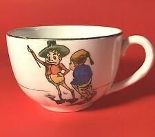 New listing Palmer Cox Brownies Cup Rare Antique Porcelain Gold Trim