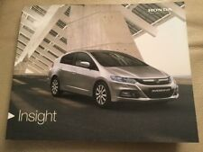 Honda Insight Car Brochure - 2012 - excellent condition
