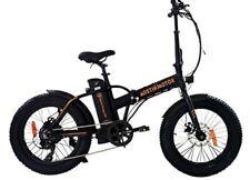 Aostirmotor Folding Electric Bike 20 inch Fat Tire Electric Bicycle