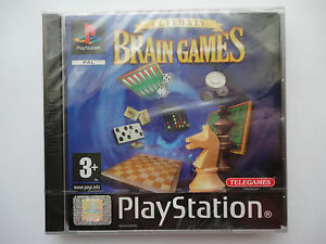 Ultimate Brain Games for Sony Playstation 1 game PS1 PS2 FACTORY SEALED / NEW
