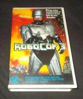 ROBOCOP 3 VHS PAL BIG BOX EX RENTAL AUSTRALIAN RELEASE