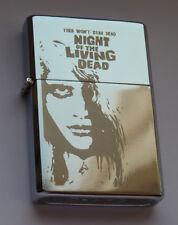 NIGHT OF THE LIVING DEAD -  chrome petrol lighter [Cd:521.mc-42-lP.] mini poster