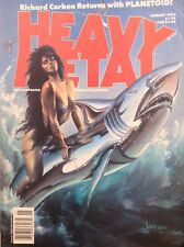 Heavy Metal Magazine Richard Corben January 1992 121417nonrh
