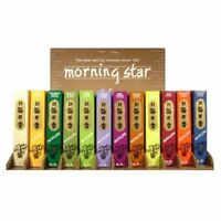 Japanese Nippon Kodo Morning Star Incense 200 Sticks with Incense Holder Stand