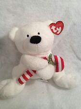 Ty Pluffies Candy Cane - Polar Bear
