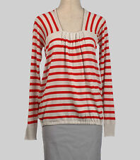 NEW C.P. Company Italian women's wool red striped sweater size 42 (US 6) or M