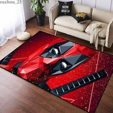 USA Deadpool Living Room Non-Slip Carpet Floor Mat Area Rug Decor Fans Gifts