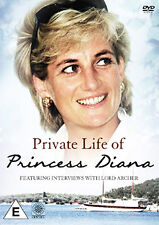 DVD:PRIVATE LIFE OF PRINCESS DIANA - NEW Region 2 UK
