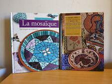 Mosaïques d'aujourd'hui + La mosaïque, techniques et créations * Fleurus oo-oo