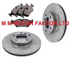 BMW 3 SERIES E46 316i SE (98-02) FRONT 2 VENTED BRAKE DISCS AND PADS SET NEW