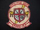 "USMC Marine Air Base Squadron MABS-12 ""UTILITIE SEC"" Vietnam War Patch"